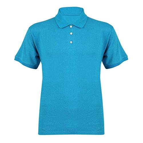 Clifton Tag Mens Polo T-Shirts-Dark Blue