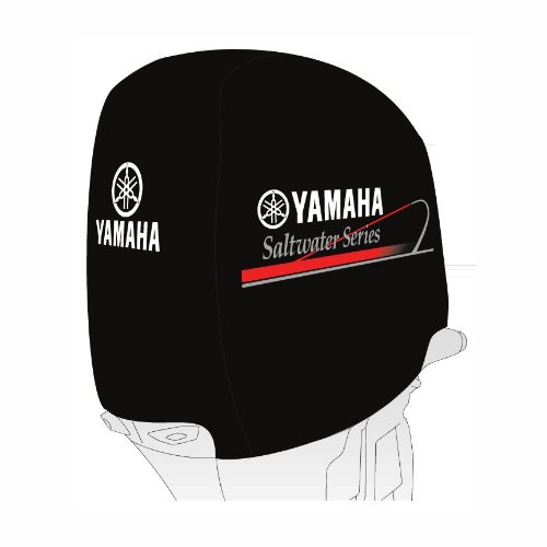 (Yamaha Deluxe Outboard Motor Cover - Saltwater Series)