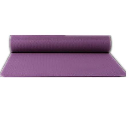 Estera de Yoga Caucho Natural Antideslizante de Doble Cara ...