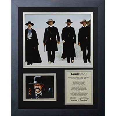 Legends Never Die Tombstone Framed Photo Collage, 11x14-Inch by Legends Never Die