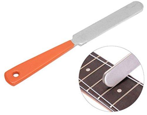 Crowning de traste de guitarra Luthier Archivo acero inoxidable Doble Bordes de corte Herramienta por shopidea estrecho