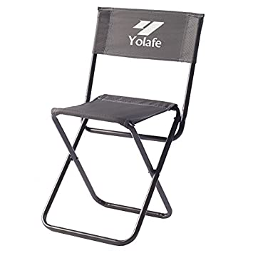 Folding C&ing Chair Portable armless Chairs Compact C& Stool with Backrest for Outdoor Fishing C&ing  sc 1 st  Amazon.com & Amazon.com : Folding Camping Chair Portable armless Chairs Compact ...