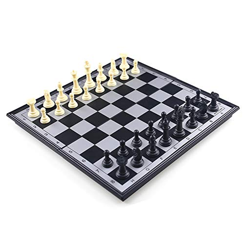 AMOR PRESENT 3 in 1 Magnetic Travel Chess Set Portable Chess with Storage Bag for Kids and Adults Gift Learning and Education Toy Gift