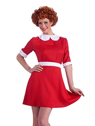 Forum Novelties Women's Orphan Annie Costume Wig, Red, One Size ()