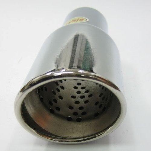 Bolo Romo 267/A Sortie d/échappement double tube universelle inox acier inoxydable Embout d/échappement 37 44/mm /Ø Chrom/é