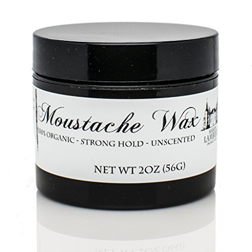 Maison Lambert Mustache Wax made of 100% organic ingredients - Best Moustache Wax for long lasting hold while treating your facial hair! (Best Moustache Wax compare prices)