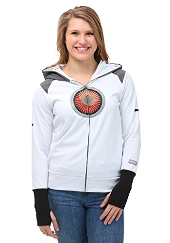 Mighty Fine Juniors Portal Sentry Hooded Costume Sweatshirt -