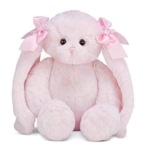 Bearington Bun Bun Pink Plush Bunny Stuffed Animal, 14 - Stuffed Easter Rabbits