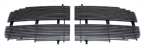 - MaxMate Fits 06-08 Dodge Ram Pickup 2PC Upper Replacement Polished Billet Grille Grill Insert
