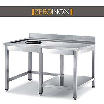 ZeroInox Mesa Aquellos Asuntos en Los con Orificio ...