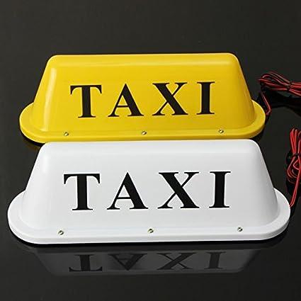 Amazon.com: US Warehouse – Impermeable Taxi Base Magnética ...