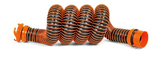 Camco RhinoEXTREME 5ft RV Sewer Hose Extension Kit with Swivel Fitting, Extend your Sewer Hose to Fit Your Needs, Crush Resistant by Camco