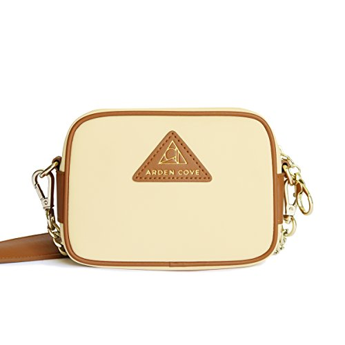 City Bag Cream - Arden Cove Mini Anti-Theft Waterproof Cross-Body Bag (23