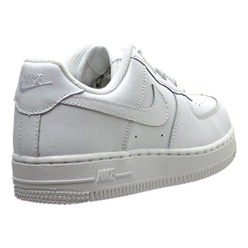 58ad3b83 NIKE Air Force 1 (PS) Little Kid's Shoes White 314193-113 ...