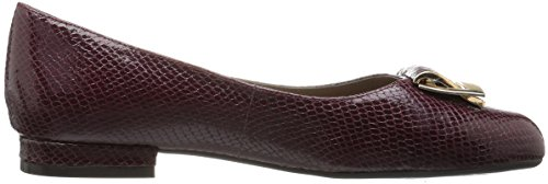 Aerosoles Women's Good Times Slip-on Loafer Wine Snake free shipping visit new outlet really pVD9W