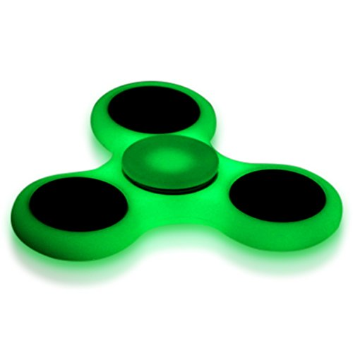 Fidget Tri Spinner Toy  Glow In The Dark  Hand Spinner Helps Anxiety  Stress  Adhd  Boredom  Best Quality  Strong  Fluorescent  Fidget Spinner Toy   Strong Abs Material Not 3D Printed Cheap