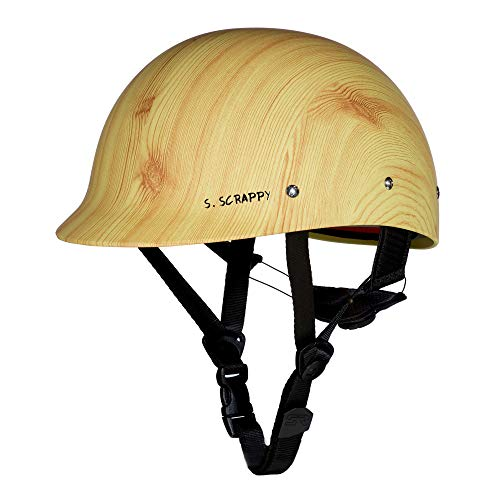 Shred Ready 2019 Super Scrappy LE- Wood (Whitewater Helmet)