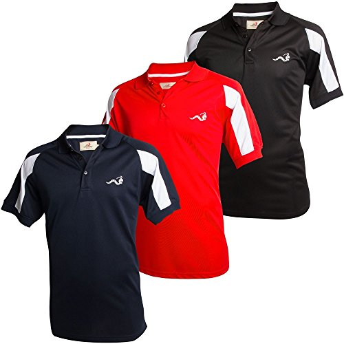 Woodworm Golf Tour Performance Polo Shirts -3 Pack - Golf Woodworm