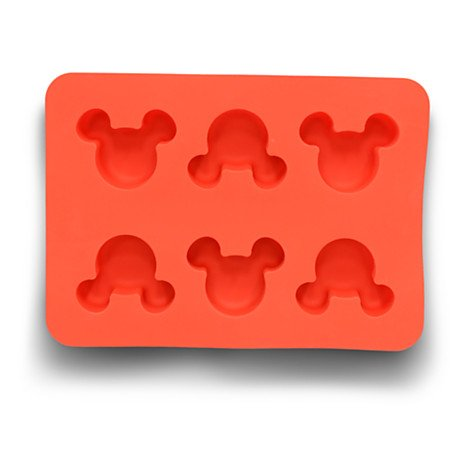 Disney Parks Exclusive Mickey Mouse Icon Silicone Muffin Mold (Mickey Icon Ears)