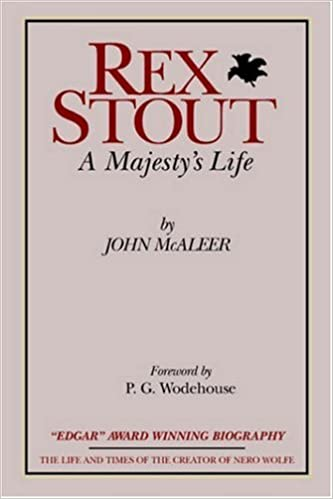 Rex Stout A Majestys Life-Millennium Edition