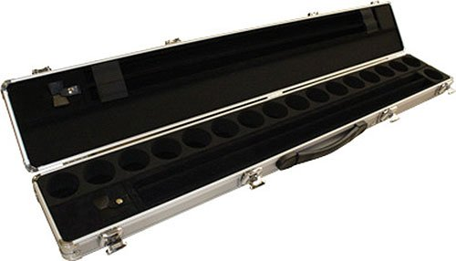 Aramith Billiard/Pool Cue & Ball Locking Hard Travel Case by Aramith