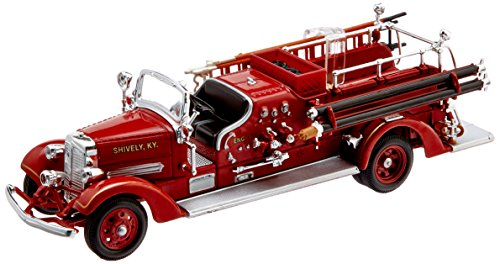 1938 Ahrens Fox VC Fire Engine Red 1/43 Diecast Car Model by OK Toys (Diecast Fire Engine)