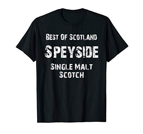 Scotland Speyside Single Malt Lovers Scotch Whiskey T-Shirt (Best Speyside Single Malt)