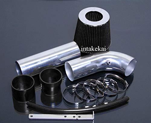 PERFORMANCE SHORT RAM AIR INTAKE KIT + FILTER FOR 2005-2010 DODGE CHARGER MAGNUM CHRYSLER 300 2.7 2.7L V6 ENGINE (BLACK) ()