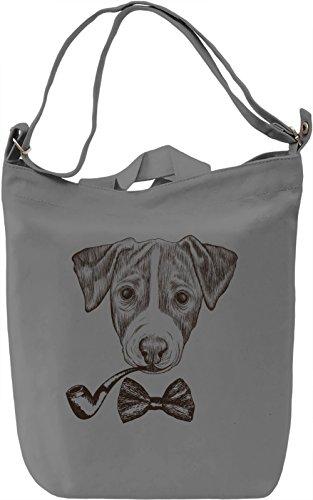 Fancy dog Borsa Giornaliera Canvas Canvas Day Bag| 100% Premium Cotton Canvas| DTG Printing|