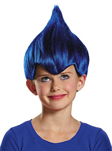 Dark Blue Wacky Child Wig, One Size (Box Troll Halloween Costume)