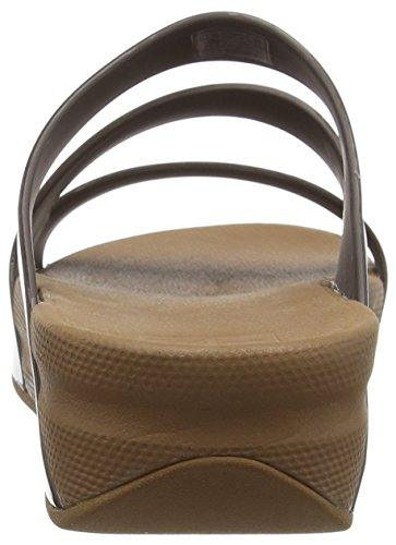 Fitflop Twist Bronze Women's Brown Sandals Superjelly pq8pBrwx