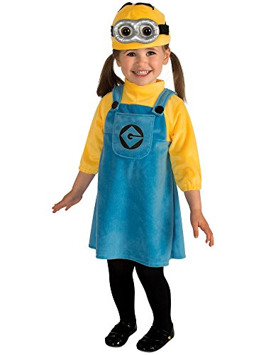Minions Costumes Toddler (Rubie's Costume Despicable Me 2 Female Minion Costume, Blue/Yellow, Infant)