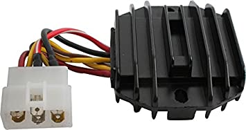 DB Electrical AKW6006 New Rectifier For John Deere 240, 245 Lawn Tractor, on