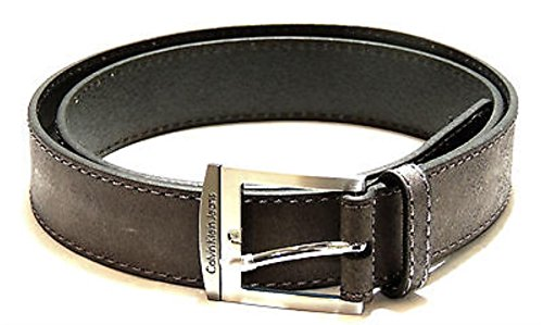 Calvin Klein Denim Belt (Belt man leather CKJ CALVIN KLEIN JEANS article C722DF size 100 color 999 GRAY)