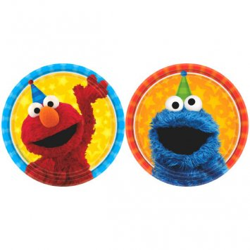 Sesame Street Birthday Party Supplies Bundle Pack for 16 Guests