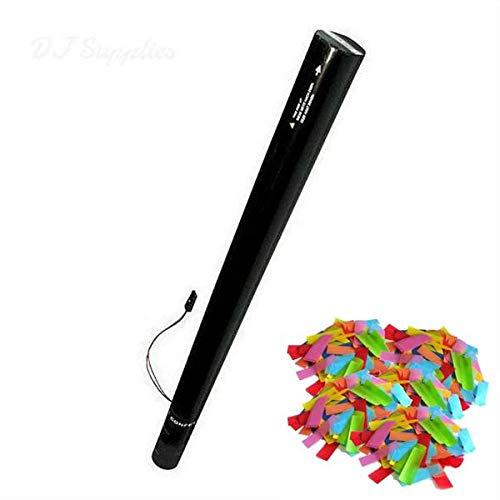 SpecialFXRentals Confetti E Cartridge 23'' x 2'' Multi Color Streamers