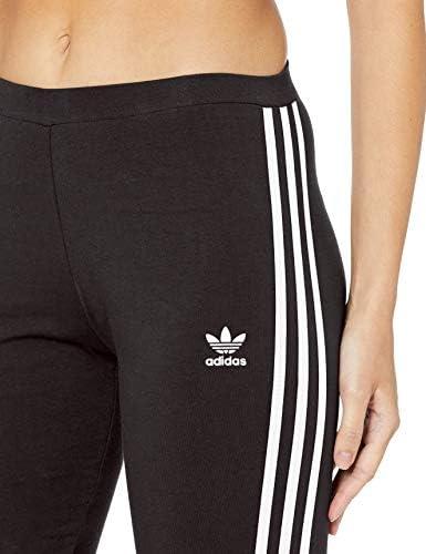 adidas Originals Women's 3-Stripes Leggings, Black, S