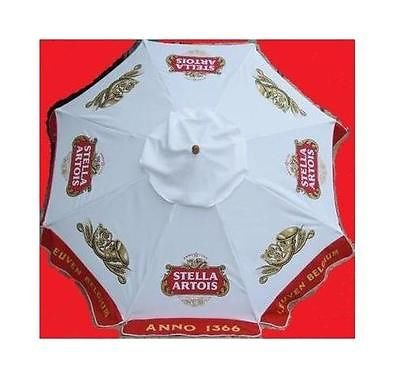 STELLA ARTOIS ANNO 1366 LEUVEN BELGIUM BEER PATIO UMBRELLA MARKET STYLE NEW by Stella Artois