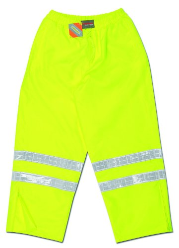 Mcr Safety 598RPWL Class E Breathable Polyester/Polyureth...