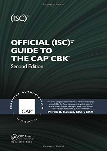 Official (ISC)2® Guide to the CAP® CBK® ((ISC)2 Press)]()