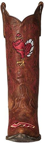 Ncaa Virginia Tech Hokies 33 Cm Gameday Damen Stiefel Pasticcio
