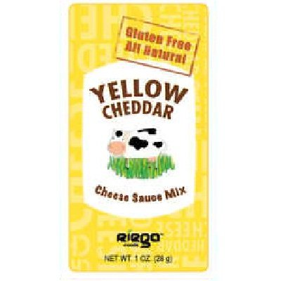 Riega Foods Yellow Cheddar Sauce Mix 48x 1OZ by RIEGA