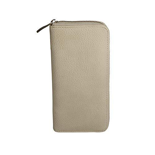 - ZUDY Wallet Card Holder for phone (Beige)