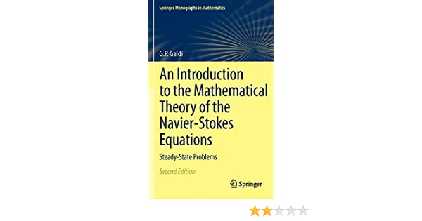 An Introduction to the Mathematical Theory of the Navier