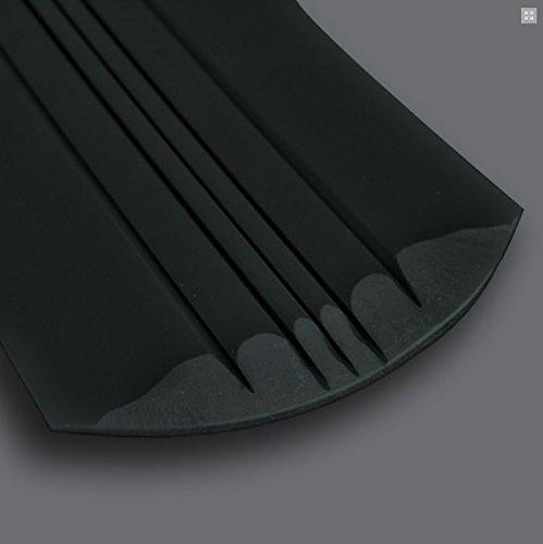 KeelGuard by Megaware - Boat Hull Protector (Choose Length & Color) (Black, 7')