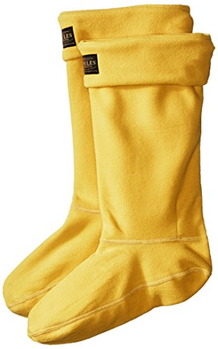 Joules Women's Welton Rain Boot Socks, Antique Gold, Medium from Joules