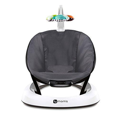 4moms, bounceRoo, Bouncer Seat, Dark Grey Classic by 4moms