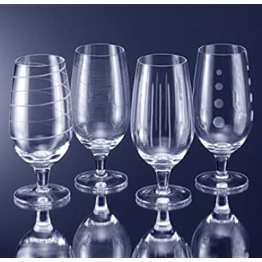 MIKASA CRYSTAL-CHEERS-ICED BEVERAGES SET(S) OF 4