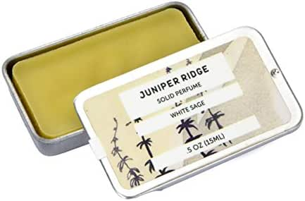 Juniper Ridge Solid Perfume - White Sage - 0.5 Oz