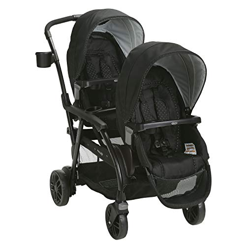 41MGdkvd1bL - Graco Modes Duo Double Stroller | 27 Riding Options For 2 Kids, Balancing Act